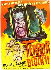 Cartel de cine carcelario 1954