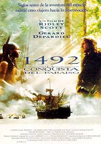 Cartel de cine aventuras 1992
