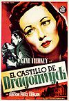 Cartel de cine drama 1946