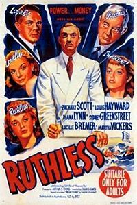 Cartel de cine suspense 1948