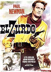 Cartel de cine oeste 1958