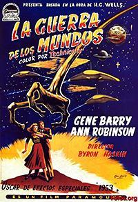Cartel de cine fantástico 1953