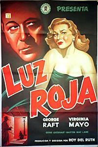 Cartel de cine gánsteres 1949