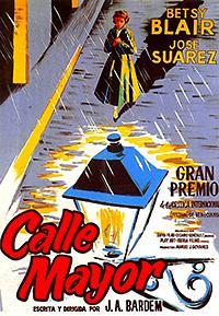 Cartel de cine Español 1956
