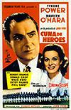 Cartel de cine biográfico 1955