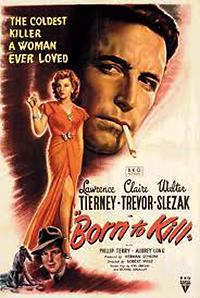 Cartel de cine psicópatas 1947