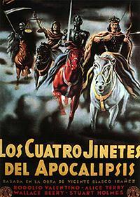 Cartel de cine apocalipsis 1962