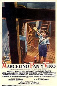 Cartel de cine cristiano 1954