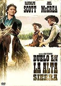 Cartel de cine oeste 1962