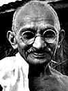 Cartel de cine Gandhi 1968-2005