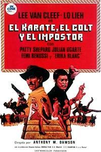 Cartel de cine spaghetti western 1974