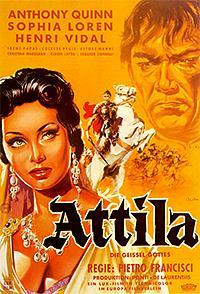 Cartel de cine histórico 1954