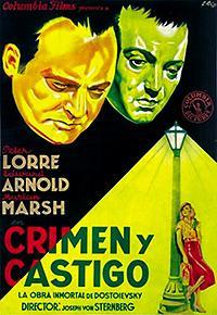Cartel de cine literatura universal 1935