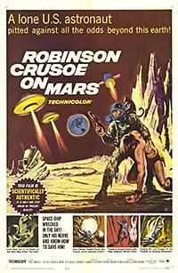 Cartel de cine ciencia ficción 1964