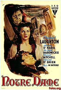 Cartel de cine y literatura universal 1939