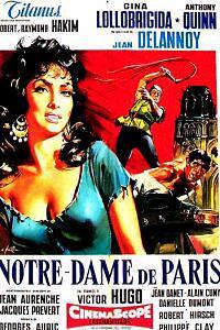 Cartel de cine francés 1956