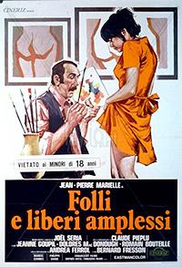 Cartel de cine erotico frances 1975