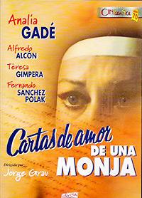 Cartel de la pelicula Cartas de amor de una monja
