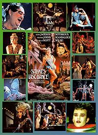 Cartel de cine literatura erotica 1988