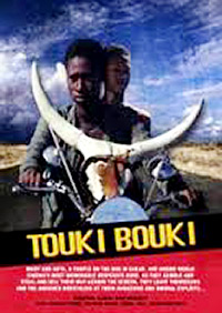 Cartel de la pelicula Touki Bouki