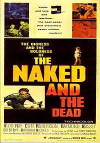 Cartel de cine belico 1958