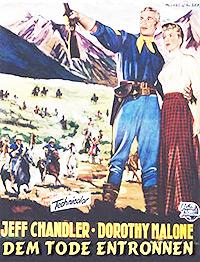 Cartel de cine del Oeste 1959