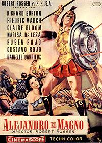 Cartel de cine histórico 1956