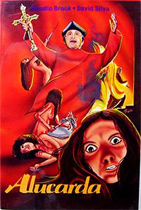 Cartel de cine terror 1975