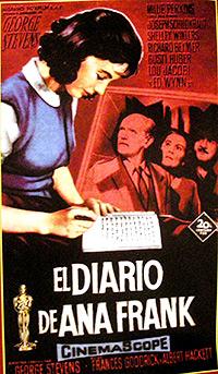 Cartel de cine biográfico 1959