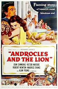 Cartel de cine romanos 1952