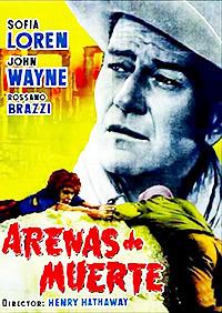 Cartel de cine clasico 1957
