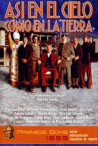 Cartel de cine clasico español 1995