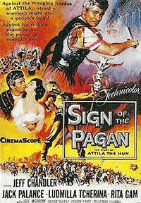 Cartel de cine aventuras 1955