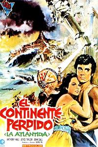 Cartel de cine fantástico 1961