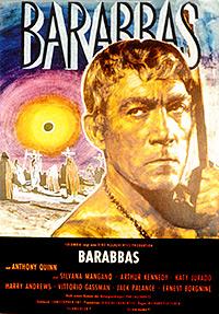 Cartel de cine bíblico 1961