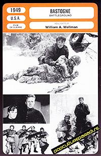 Cartel de cine bélico 1949