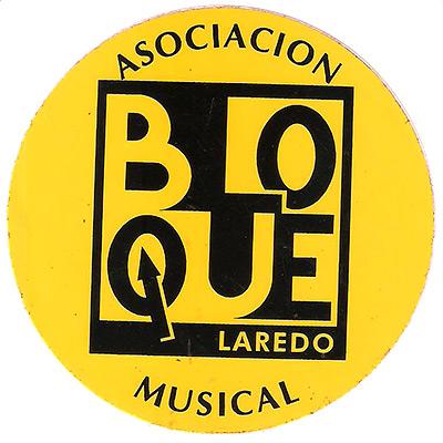 Logo de la asociación musical Bloque de Laredo.