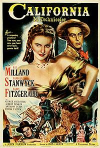 Cartel de cine oeste 1946