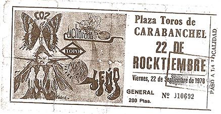 Pejino.com 22 Rocktiembre Carabanchel 1978