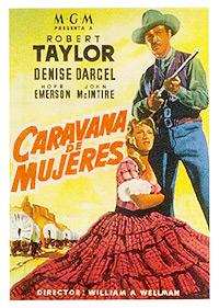 Cartel de cine oeste 1951
