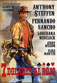 Cartel de cine spaghetti western 1966