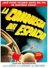 Cartel de cine ciencia ficción 1955