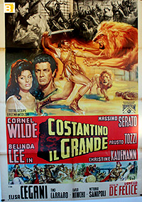 Cartel de cine romanos 1962