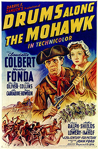 Cartel de cine clasico aventuras 1939