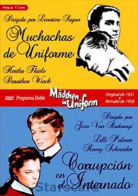 Cartel de cine clasico 1958