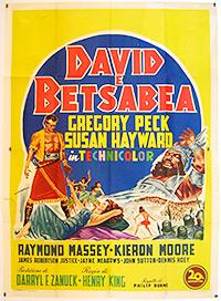 Cartel de cine bíblico 1951