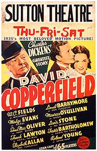 Cartel de cine clásico literatura 1935