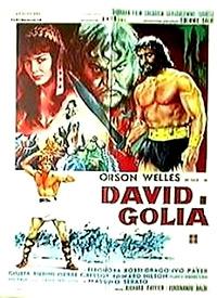 Cartel de cine biblico 1960