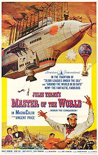 Cartel de cine aventuras 1961