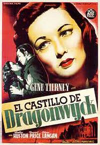 Cartel de cine literatura 1946